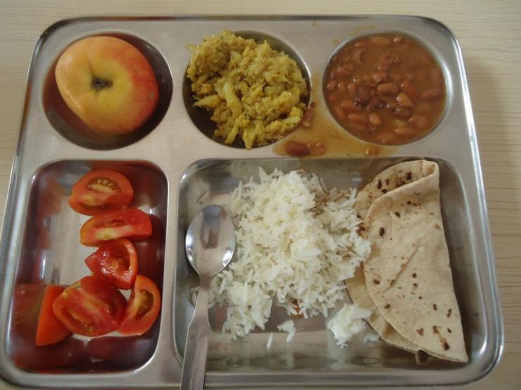 Ashram food
