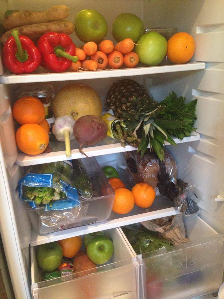 fridge full of goodness