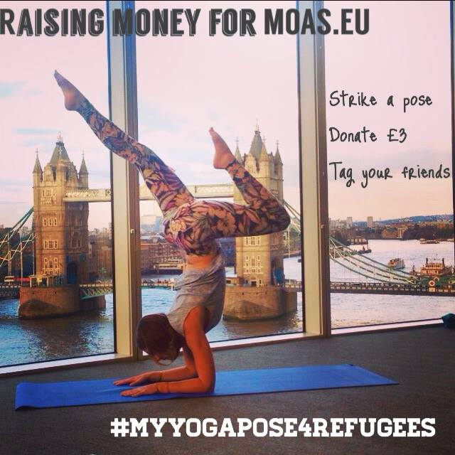 #myyogapose4refugees
