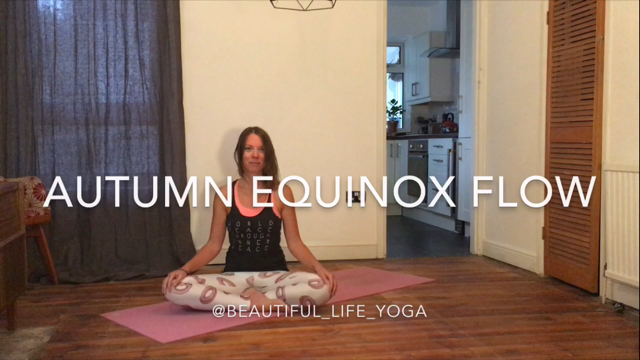 Autumn equinox yoga flow class