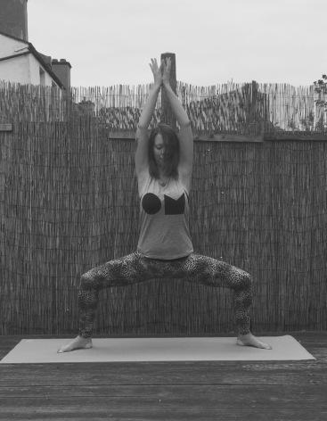 Goddess pose V2